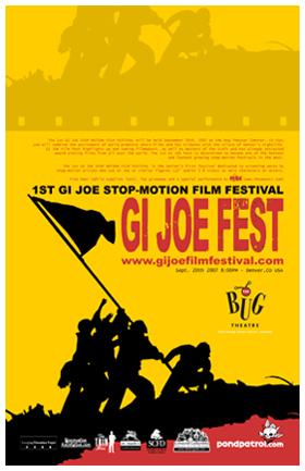 GI JOE Film Festival Poster